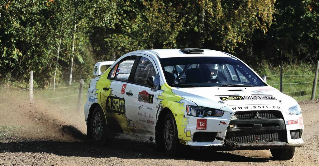 RALLY: RALLY Words: Liga Stirna Pictures: Kris Karnitiss There are some rallies that stand out from championships for their importance as an event itself.