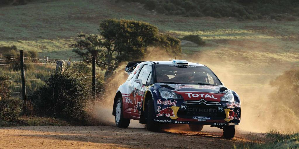WRC RALLYE ITALIA SARDEGNA: LOEB CRASHES, HIRVONEN WINS Words: Handbrakes & Hairpins Pictures: Citroën Racing, WorldRallyPics, MINI Mikko Hirvonen and Jarmo Lehtinen claimed their first WRC victory