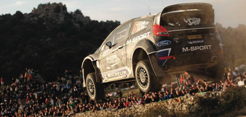 [when we will use the Polo R WRC]. We were probably helped by our start position and because we saved tyres with the S2000. It was good fun in the car though and we had a very good drive.