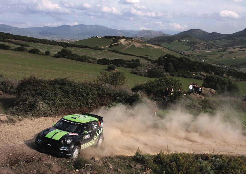 IN FOCUS TOO MINI s recent announcement to withdraw from the WRC at the end of 2012 didn t dampen WRC MINI Team Portugal s