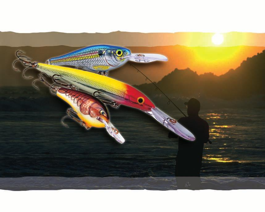 Product Information Lures for All Types of Fishing from Ultra-light to Big Game.