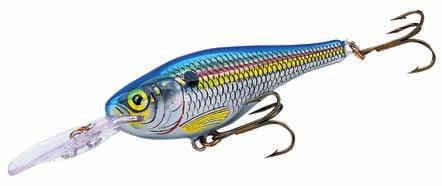 Rapala Shad Rap RS Code: SRRS Suspending Deep Diving A suspending variation of popular Shad Rap Lifelike design just like nature itself Great properties: deep diving, long casting, tempting sound