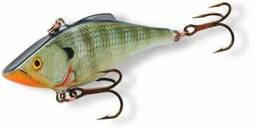 Rattlin' Rapala Code: RNR Saltwater Sinking Multi-purpose long-casting lure Works well in all conditions with a variety of different techniques and fish species The multi-frequency rattles resemble