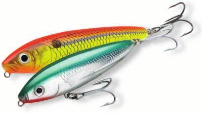 Rapala Skitter Walk Code: SW/SSW (SW) Saltwater(SSW) Topwater The ultimate 'Walk the Dog' lure Works from side to side, rolls and creates exaggerated flash and additional vibrations Integral weights