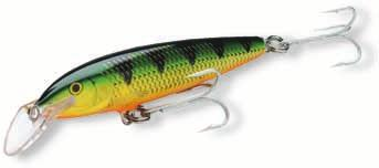 situations for larger fish Choose a suitably sized lure from either the floating or sinking selection to match the target fish Use heavy-duty leaders, snap locks or oval rings Cast or troll, Magnum