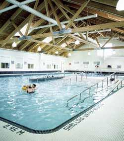Chinguacousy Wellness Centre Swimming Facilities Learn to Swim: For up-to-date lesson times, locations and fees, and to register, visit or any recreation centre.
