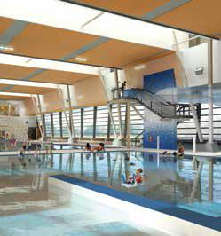 6 Metres Deep in Deep End ADDITIONAL INFORMATION / PROGRAM INFORMATION Female only programs (swims and lessons) Sauna on deck Hot tub Slide On deck viewing area Gore Meadows Community Centre CENTRE