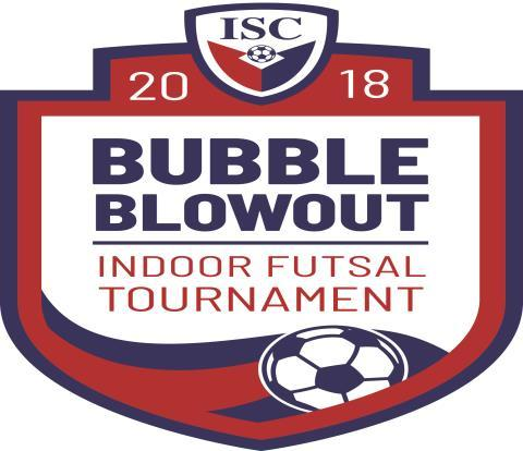 ISC 2018 Bubble Blowout Tournament Rules FIFA RULES APPLY IF NOT MODIFIED WITHIN Goals: Approximately 5 feet wide x 3 1/2 high. We use small sided goals for the ISC Bubble Blowout.