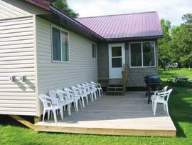 offering beautiful sunrises and great views of Cass Lake and our