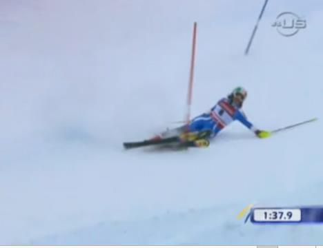 Legal Passage: Double pole SL, GS, SG, DH 1. Competitors must pass through every gate.