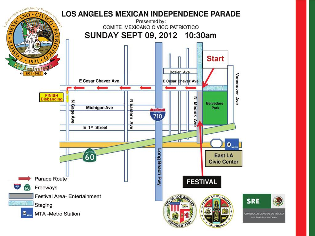 Parade and Festival SUNDAY,