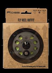 ESSENCE ELITE OUTFIT PREMIUM OUTFIT The Essence Elite Outfit is designed for anglers who want the convenience of purchasing an all-inclusive fly fishing package but demand the quality of premium