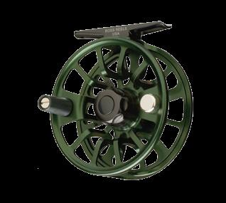 Anglers who have been asking for more metal in their fly reels will get exactly that as the Evolution LT is fitted with an aluminum spool cap, drag knob and escapement