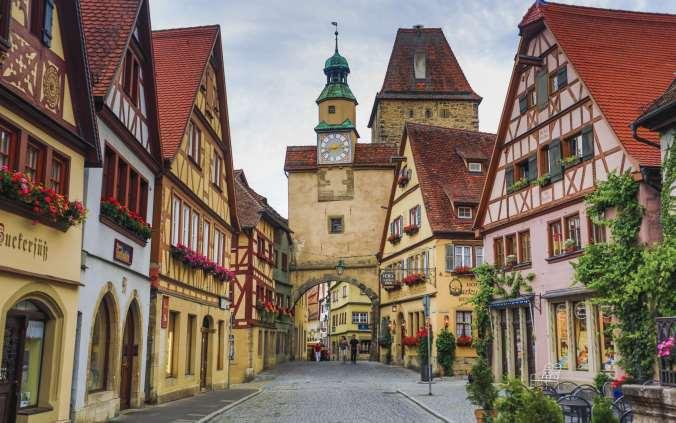 Germany Romantic Road Bike Trail from Rothenburg to Fussen 2018 Individual Self-guided 9 days / 8 nights Globetrotter-blog.