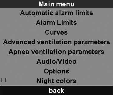 "1 Automatic alarm limits General When the ""Automatic alarm limits"" function is activated, the unit automatically determines limits for the alarms relating to respiratory physiology."