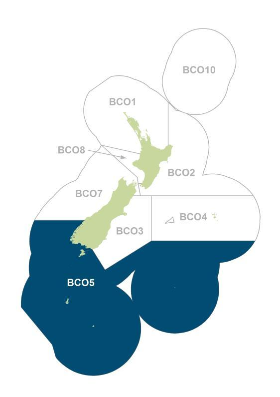 BLUE COD 5 (BCO5) Figure 1.