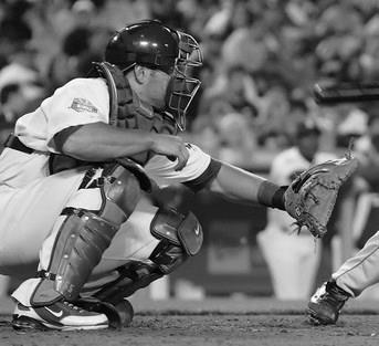 RECEIVING Rule # 1 in being a good catcher is to catch the ball.