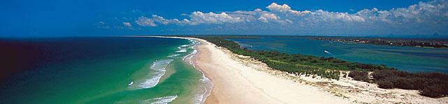 About Bribie Island Population: 20,000 & a further 1,000 visitors on weekends & holidays.
