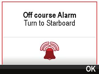 11.1 Alarms Alarms are used to alert you to a situation or hazard requiring your attention.
