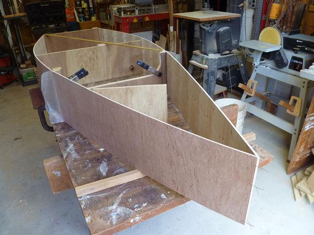 A Boat Builders Story By Ken Simpson September 2013 This is a tale about the experiences of Bayard Stix Cook of Florida, and his build of the 1 SHEET + pram.