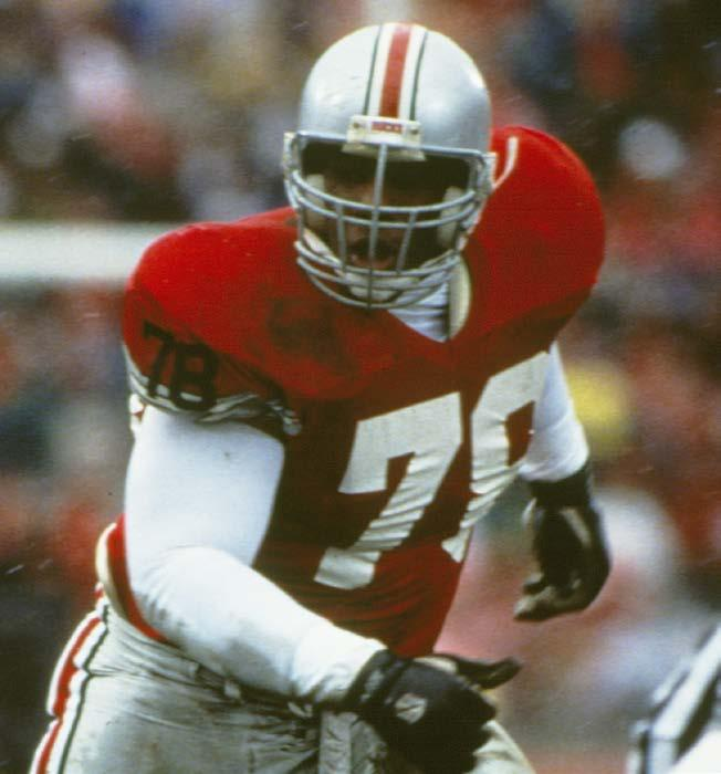 The 1996 Big Ten Defensive Player of the Year (selected by the conference head coaches) was named a consensus All-American with first-team berths on the Walter Camp, Football Coaches, Sporting News
