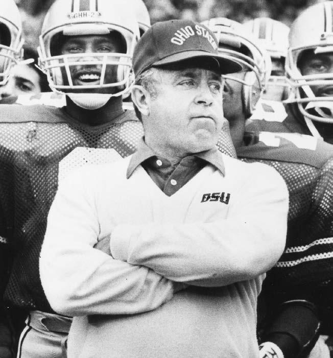 COACHES HAYES WOODY HAYES Head Coach 1951-78 205-61-10 Ohio State Record College Football Hall of Fame (1983) Three-time National Coach of the Year (1957, 1968, 1975) Five National Championships