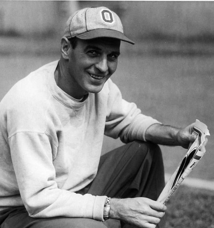 While stalking the Ohio State sidelines, Hayes led the Buckeyes to five national championships (and narrowly missed four others), 13 Big Ten Conference championships and to eight Rose Bowls.