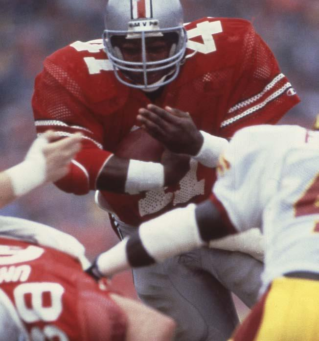 allpurpose yards (1984) Fifth at Ohio State with 3,200 rushing yards Keith Byars earned first team All-America honors, was Big Ten MVP and runner-up for the Heisman Trophy (to Boston College s Doug