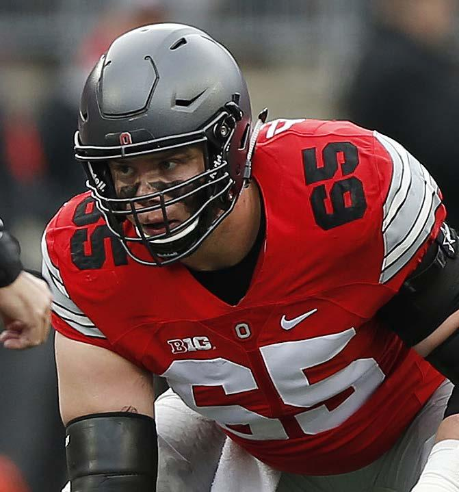 Decker also earned all-big Ten honors as a junior when he helped lead the Buckeyes to a Big Ten championship and the inaugural College Football Playoff national championship with wins over No.