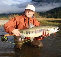 Timing: Summer-run Chinook: June - September Fall-run Chinook: October - November For the more adventurous angler, we now offer a remote river adventure on the pristine Lillooet (March/April) River