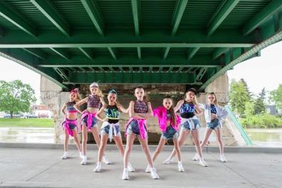 Junior Competitive Company General Information Age Range: 9 to 12 years (approximately) Audition Required: Yes Routines and Choreography Number of dances: 4 Minimum Number of costumes: 4 Minimum