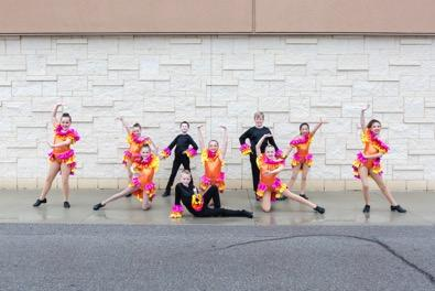 Junior Competitive Crew General Information Age Range: 8 to 12 years (approximately) Audition Required: Yes Routines and Choreography Number of dances: 4 Number of costumes: 4 Mandatory Class Time
