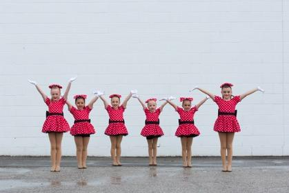 Primary Competitive General Information Age Range: 4 to 6 years (approximately) Audition Required: Yes Routines and Choreography Number of dances: 2 Number of costumes: 2 Mandatory Class Time Total