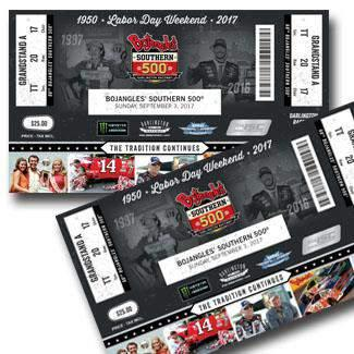 RACE DAY Complimentary Tickets & Pit Passes NASCAR Pole