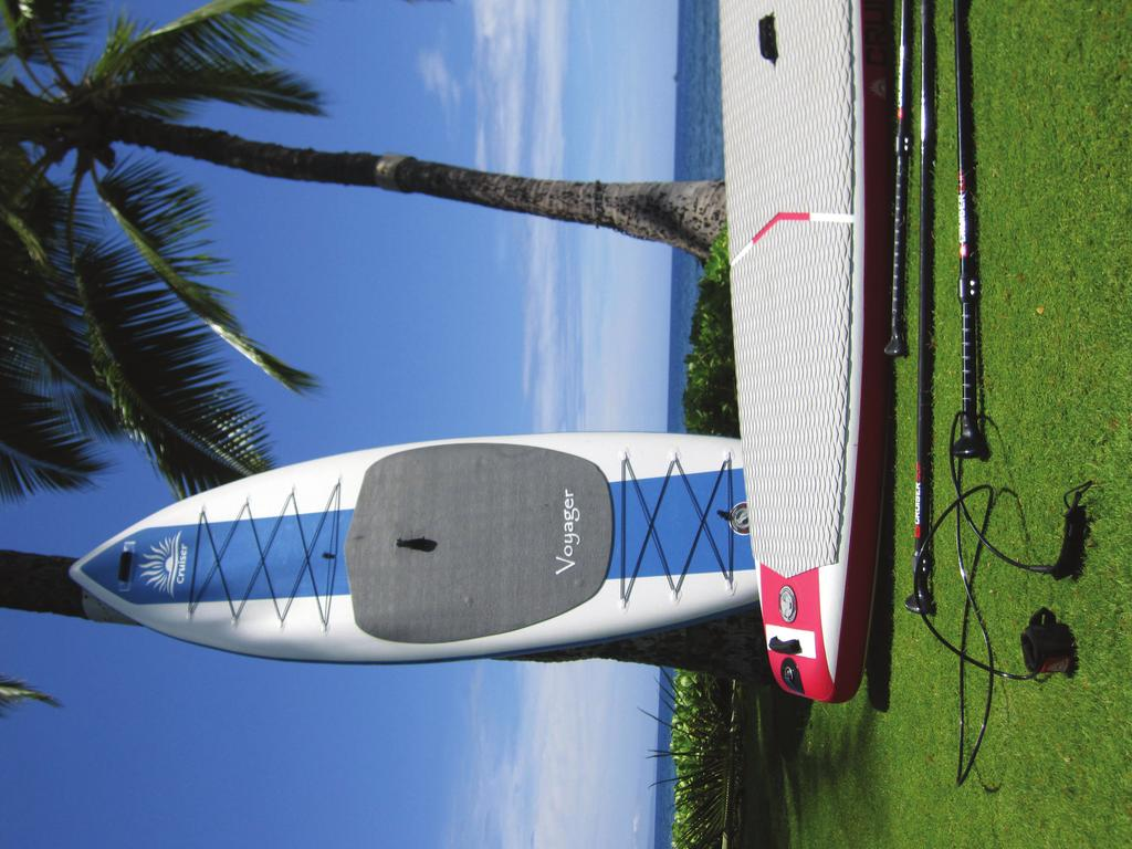 CRUISER SUP Warranty Procedure All warranty claims should be referred to the original point of purchase of the product, and include a description of the problem, photos, serial