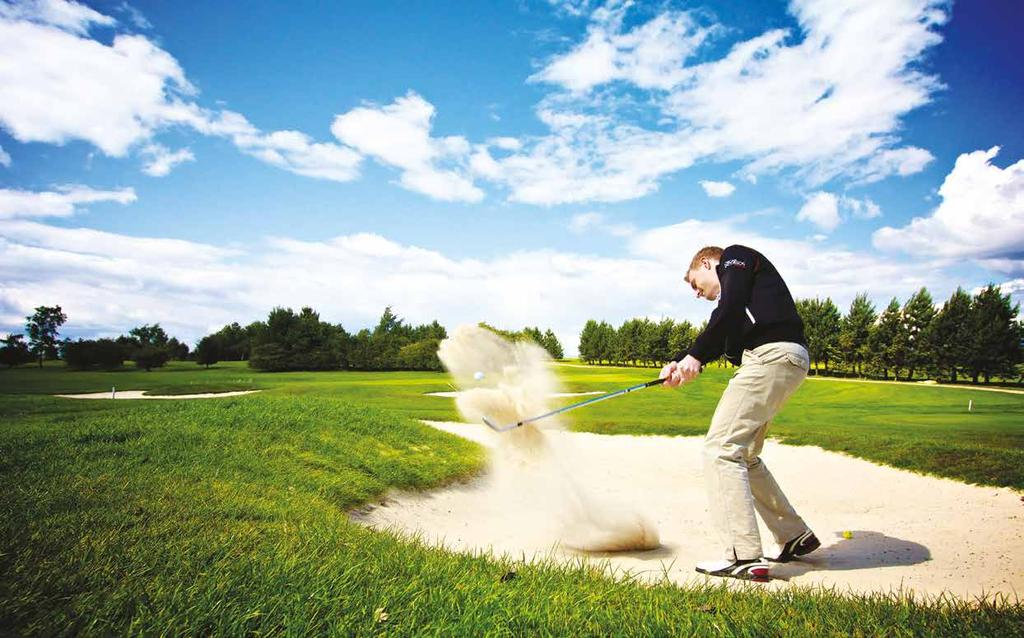 A DIFFERENT ENT BREED OF GOLF CENTRE Leeds Golf Centre is a breath of fresh air for golf lovers.