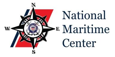 National Maritime Center Providing Credentials to Mariners U.