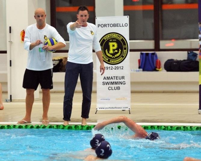 Coaching Team: Portobello are proud to say that we have one of the most experienced team of coaches in the UK available to coach at all levels of water polo.