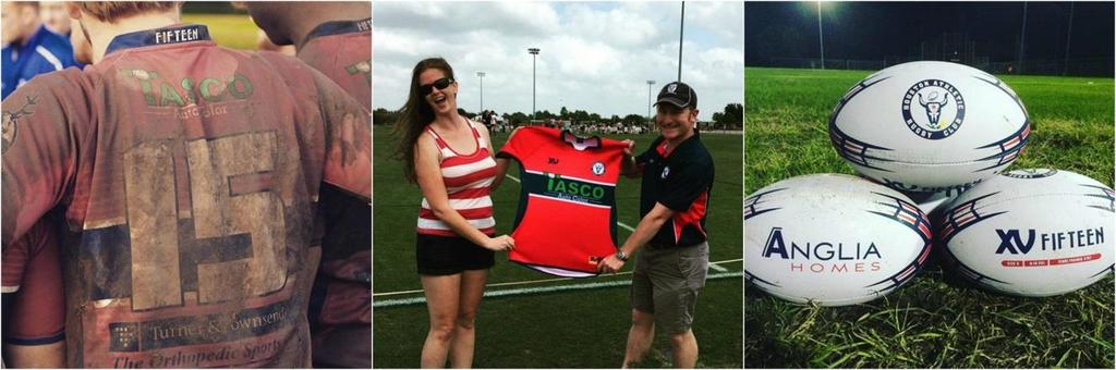 Sponsorship Marketing Opportunities The Houston Athletic Rugby Club is proud to offer the following opportunities for our corporate sponsors to market their brand and image on the Club s playing gear
