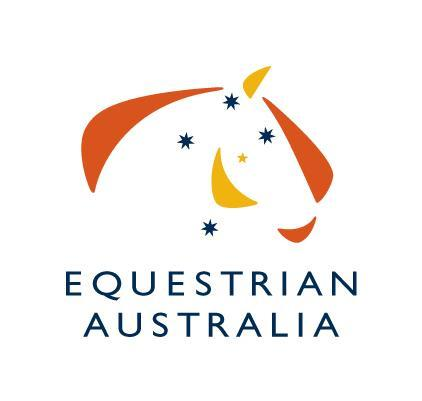 Equestrian Australia Limited NATIONAL EVENTING RULES Effective 1 January 2016 Latest update 4/01/2016 The