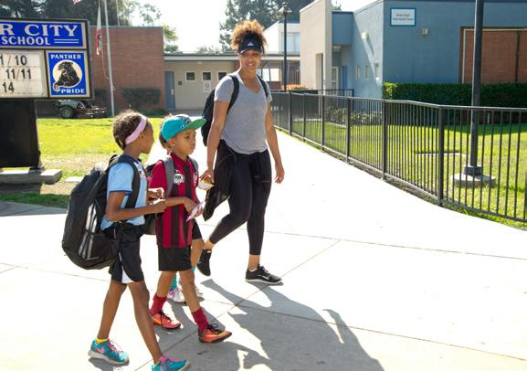 Guide to Creating Walking Route Maps for Safe Routes to School Walking one mile to and from school each day is two-thirds of the recommended daily physical activity for children and youth.