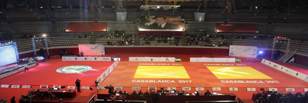 COMPETITION PLACE COMPLEXE SPORTIF MOHAMED V CASABLANCA Adress: Maarif Casablanca PARTICIPATION This Cadet African Judo Open is open for all AJU / IJF Member Federations.