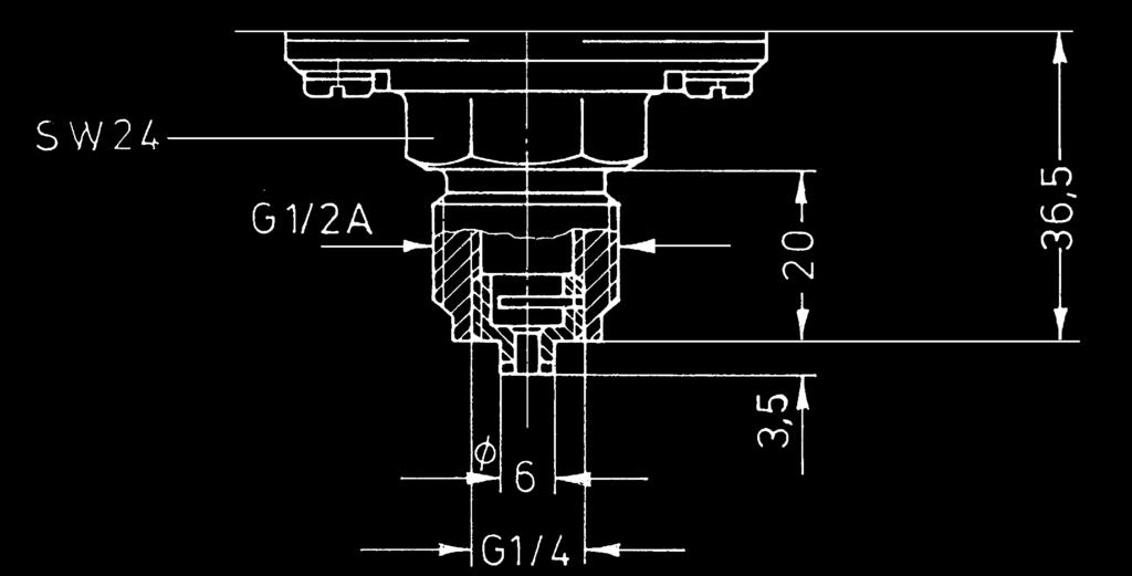 Dimensional Drawings of Switch Housings Model SCH 1 Standard housing 2 Terminal connection housing 60 46±0.