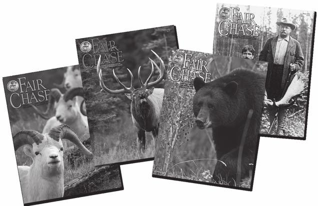 Protect Your Hunting Heritage Join the Boone and Crockett Club and Help Promote Fair Chase Hunting!