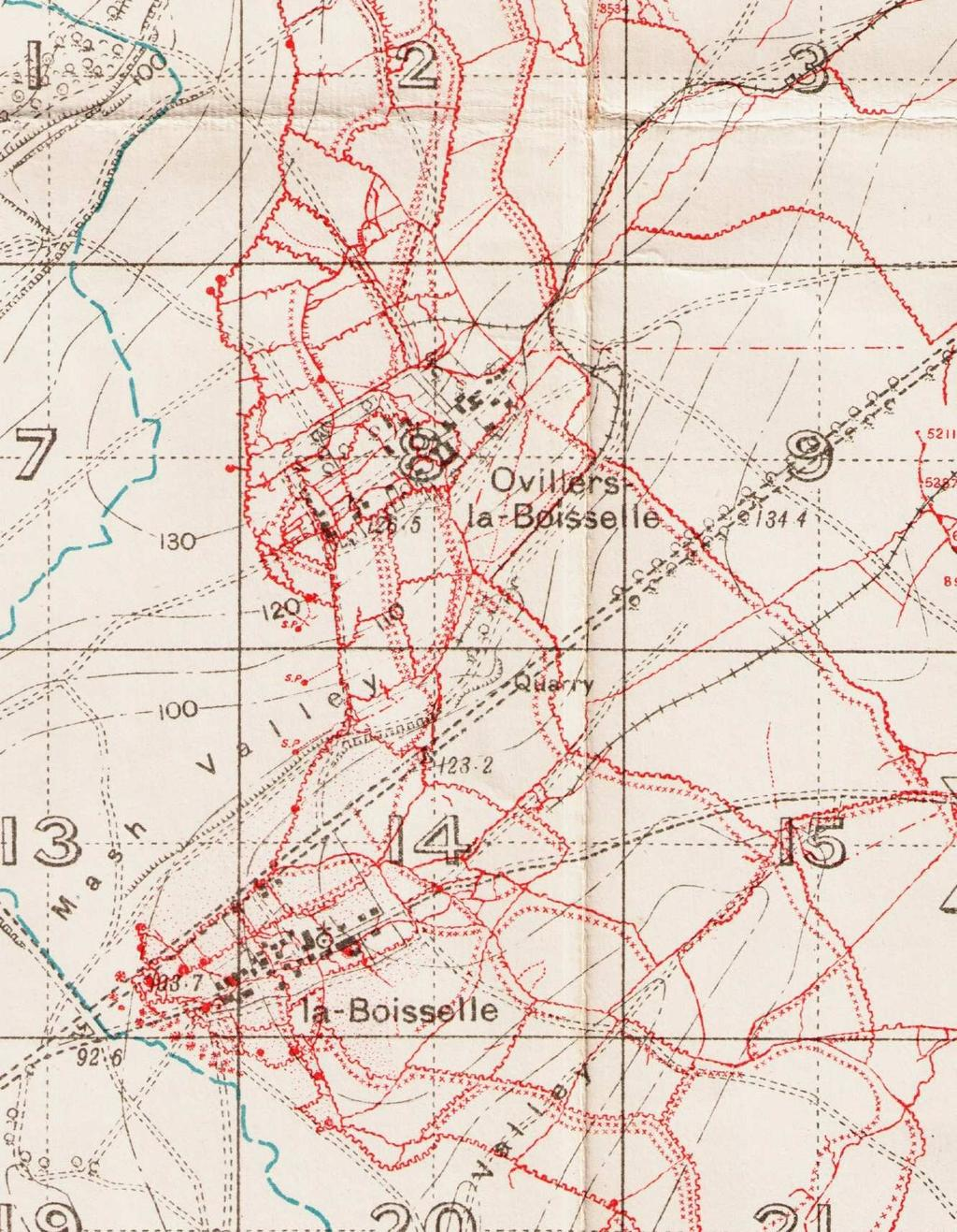 The Germans in the area of III Corps suffered very badly from the British bombardment. German numbers were whittled down. Communication became almost non-existent.