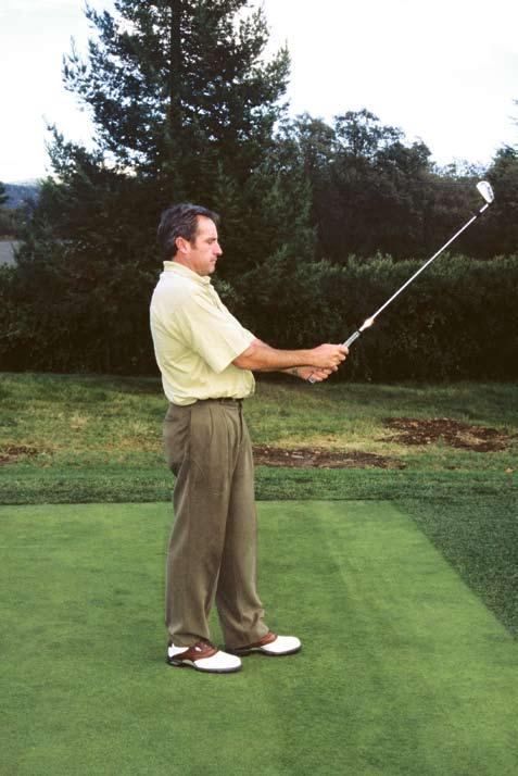 The essential characteristic of your stance at the ball in respect to correct