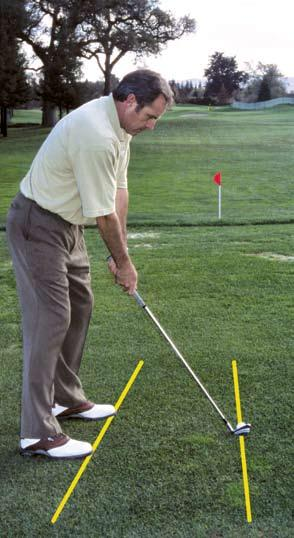 The Fade/Draw Alignment To hit a fade, you should aim the shoulders and chest to a point left of the target where you want to start the ball, but keep your clubface square to the target.