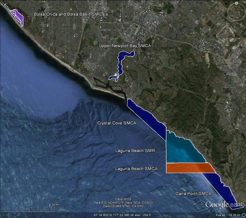 Orange County MARINE PROTECTED AREAS Orange