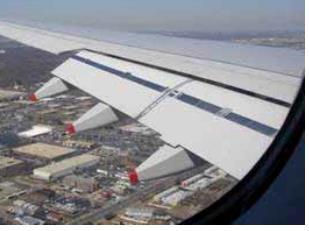 Flaps increase lift and drag Flaps increase lift (needed when landing at