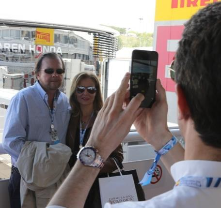 Often located above pit lane, enjoy driver appearances and interviews throughout the